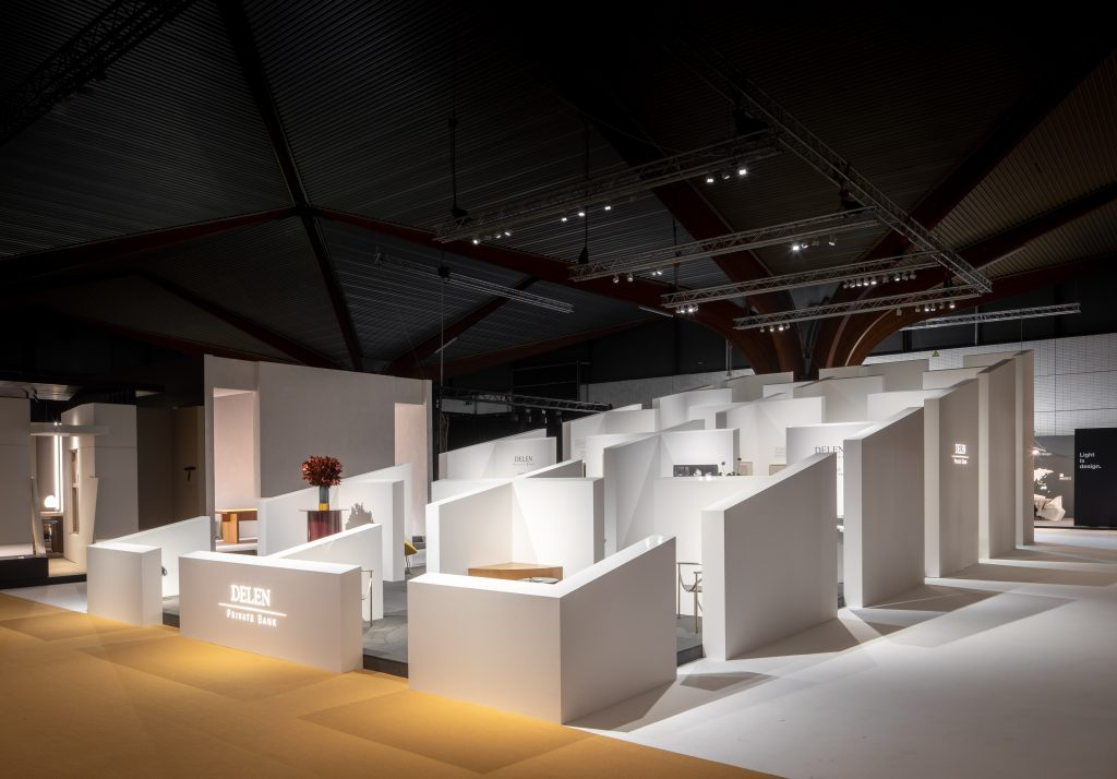 Biennale Interieur - Belgium's leading design and interior event - Delen Private Bank booth at Biennale Interieur 2018