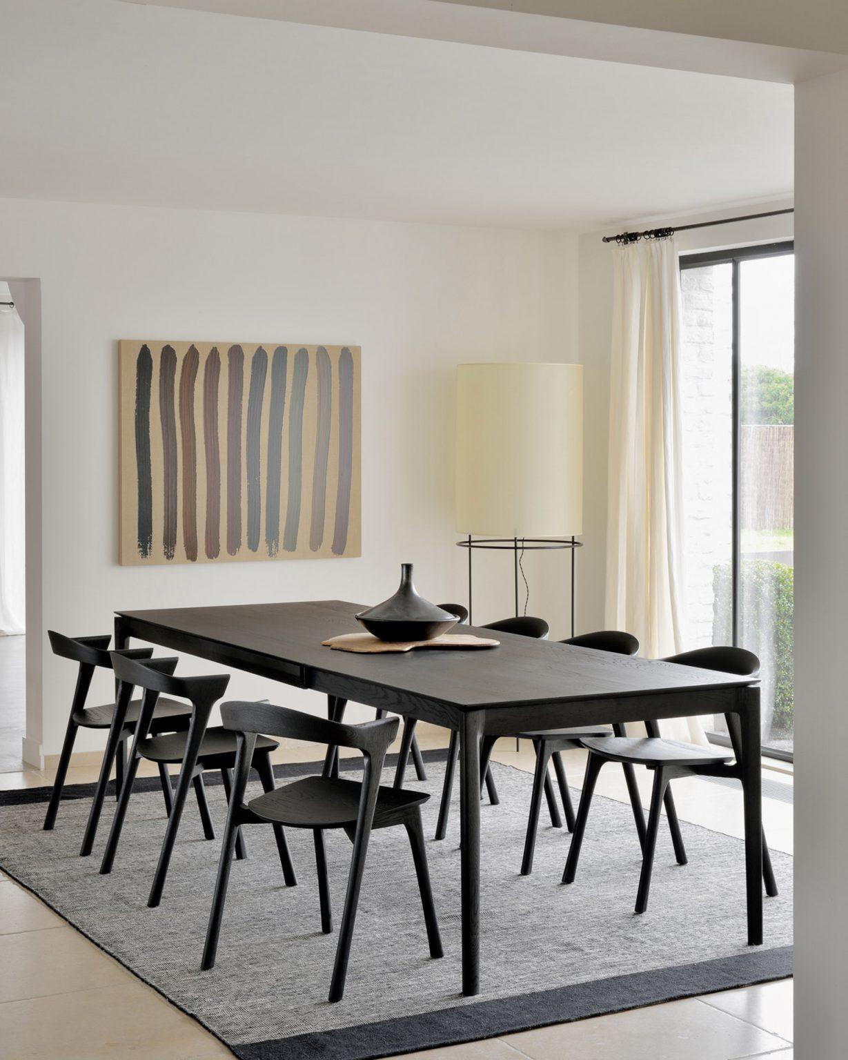 Biennale Interieur - Belgium's leading design and interior event - 51544_51491_oak_black_bok_extendable_dining_table_chair_21720_black_dots_kilim_rug_1_web.jpg