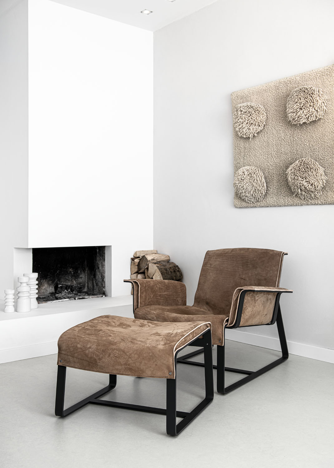 Biennale Interieur - Belgium's leading design and interior event - Founded-loungechair-cinnamon-and-ottoman.jpg