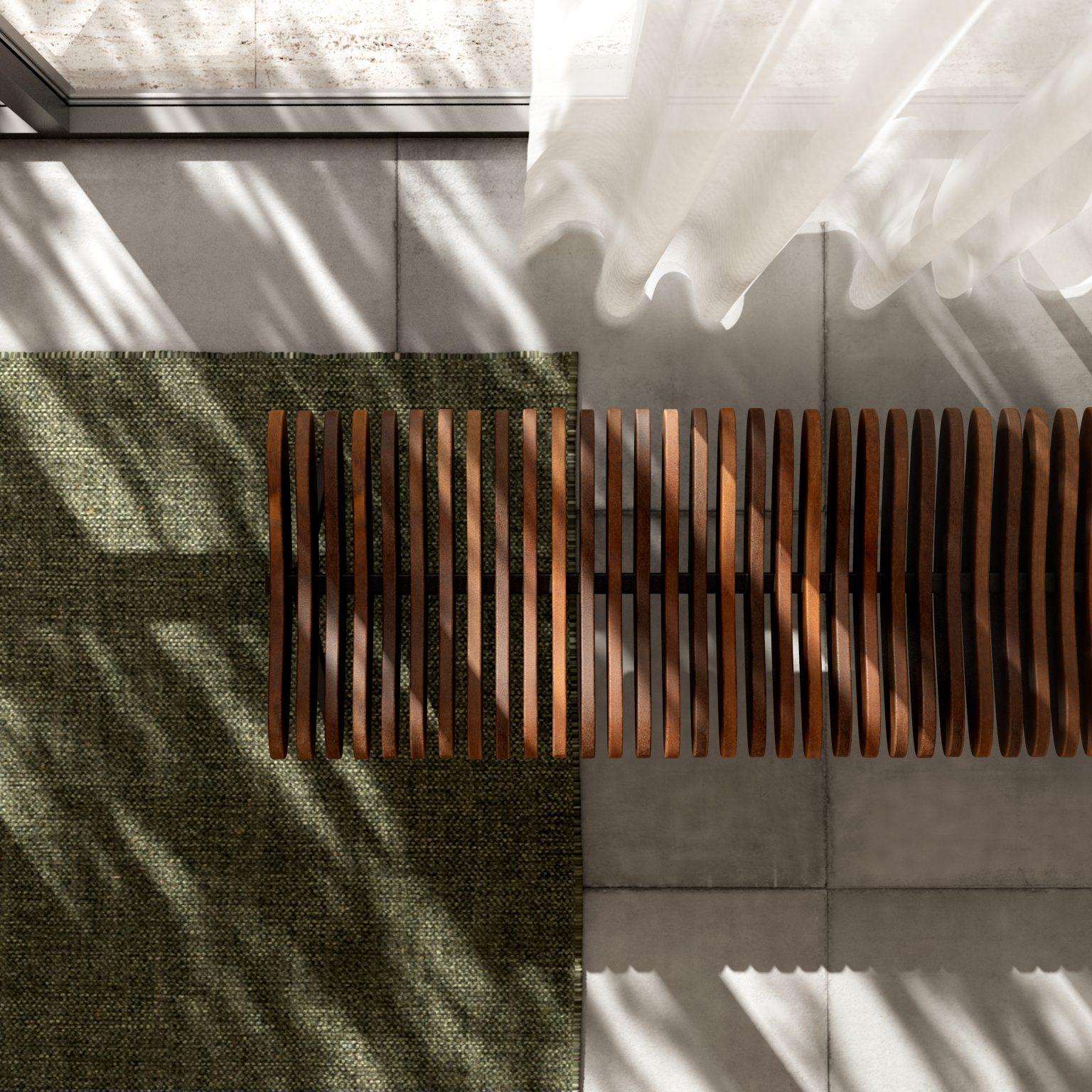 Biennale Interieur - Belgium's leading design and interior event - Prelude-bench-walnut.jpg