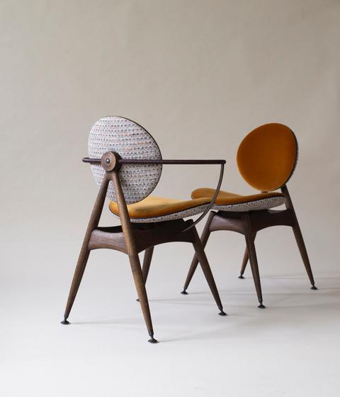 Biennale Interieur - Belgium's leading design and interior event - Https___oandd.dk_wp-content_uploads_2019_05_circlediningchair-casamanca-misia-fabrics-smokedoak-agedbrass-8